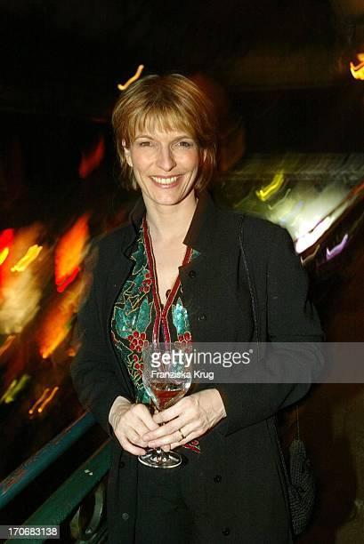 Moderatorin Susanne Holst Bei Nissan Medientreff In Hamburg