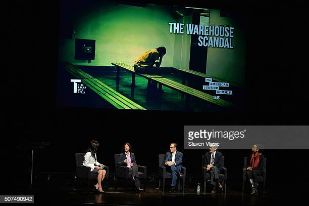 Moderator/Nightline coanchor ABC News Juju Chang Clinical Psychology Doctoral candidate Stephanie H Procell Associate Administrative Judge MiamiDade...