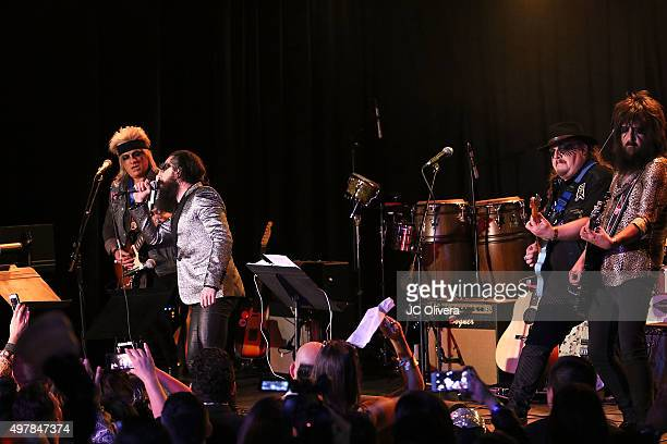 Moderatto perform onstage during ASCAP BMI SESAC LOS PRODUCERS Charity Concert Gala at Fremont Country Club on November 18 2015 in Las Vegas Nevada