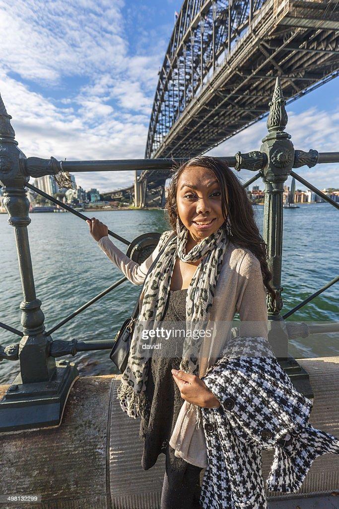 Modern Aboriginal Woman : Stock Photo