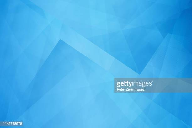 modern abstract blue background - blauer hintergrund stock-fotos und bilder