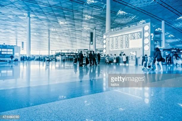 Moderne Flughafen innen
