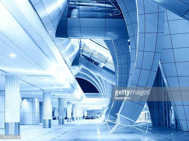 modern airport - dubai airport stock photos and pictures