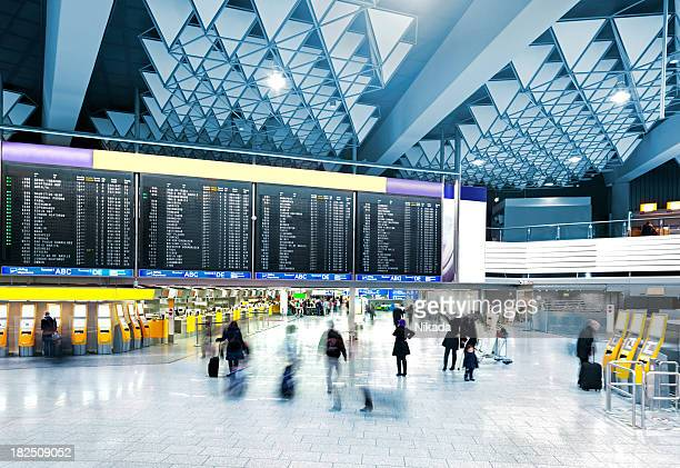 modern airport - arrival stock pictures, royalty-free photos & images