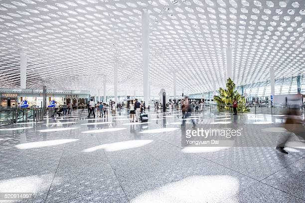 modern airport - station stock pictures, royalty-free photos & images