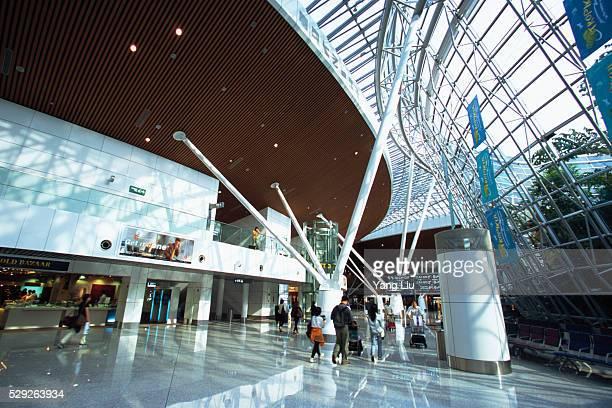 Modern Airport Terminal