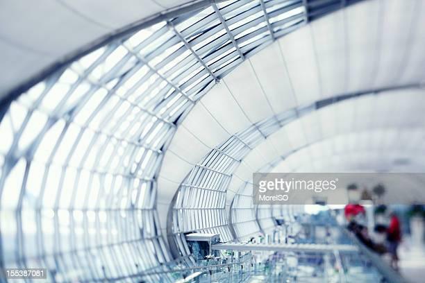 Modern Airport, Tilt Shift Lens