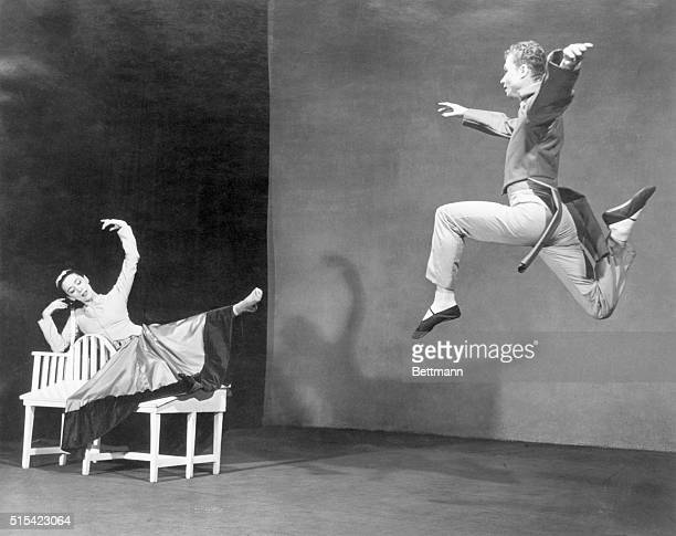 Modern American Dance A marriage of two contemporary arts the modern dance and highspeed photography produced these outstanding action photos by...