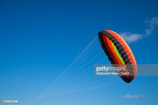a modern and big kite festival during hot and windy season in terengganu, malaysia. - shaifulzamri stock pictures, royalty-free photos & images