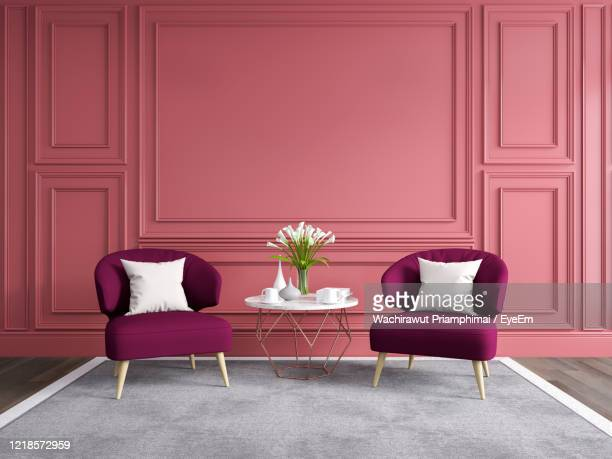 modern and classic living room interior design, spring summer house concept - abandoned stock pictures, royalty-free photos & images