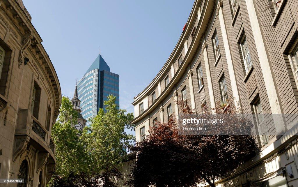 Cityscape Santiago de Chile : News Photo