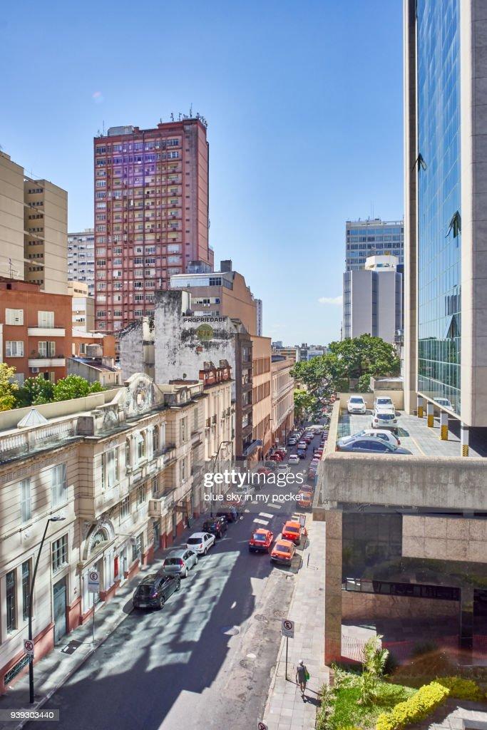 Modern And Traditional Architecture Of Porto Alegre Southern Brazil