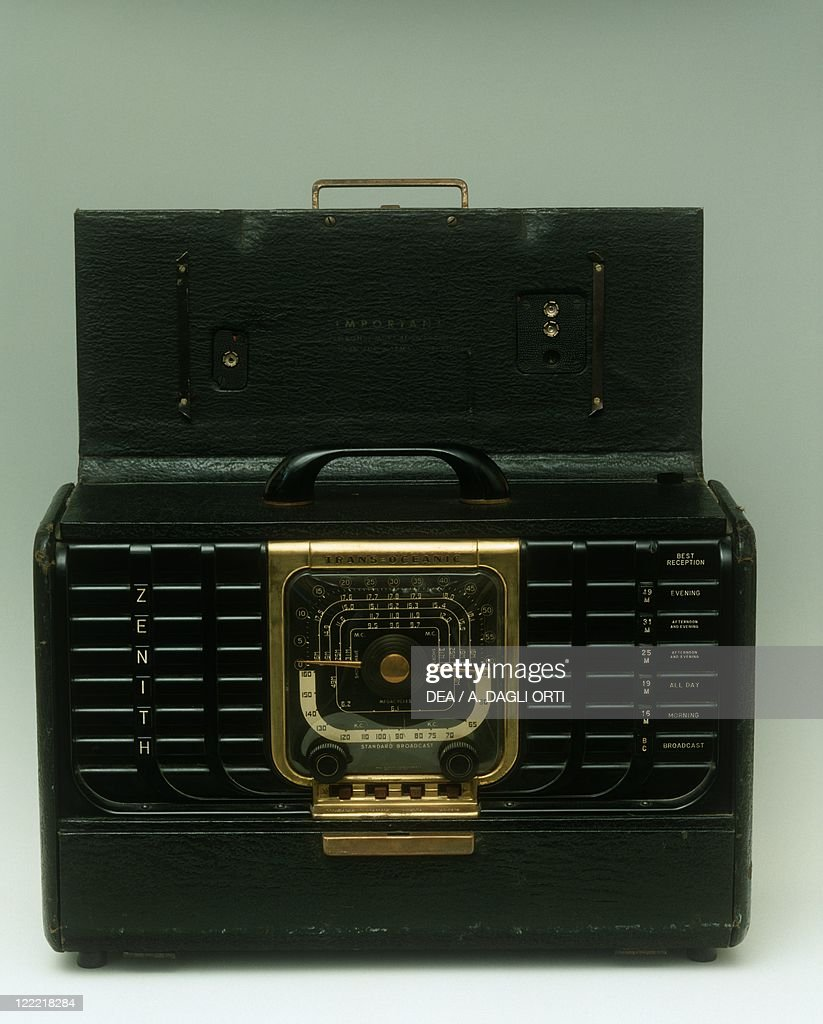 Modern antiques, 20th century - Zenith radio, model