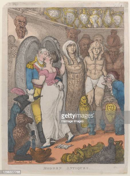 Modern Antiquities, 1811?. Artist Thomas Rowlandson.