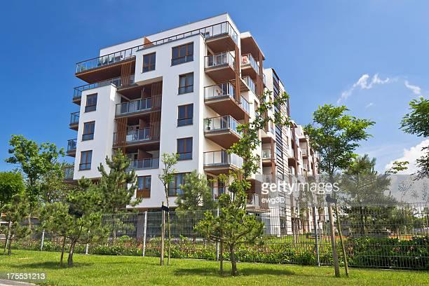 Bâtiment moderne appartement