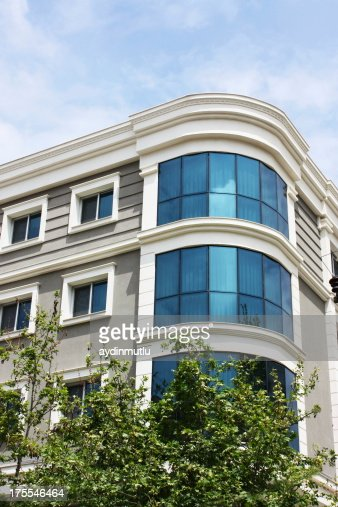 Modern Apartment Building Facade Stock Photo | Getty Images