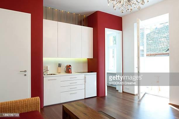 Modern apartment, Vienna, Austria