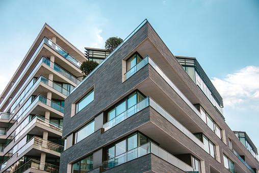 Modern apartments 931243836