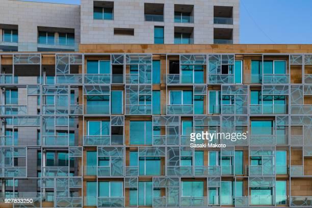 modern arabesque facade