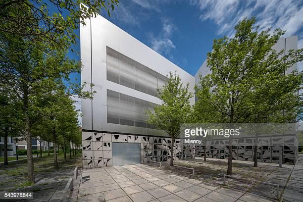 Moderne Architektur Aluminium Fassade des Gebäudes