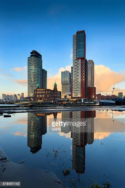 modern architecture at Rotterdam's Kop van Zuid