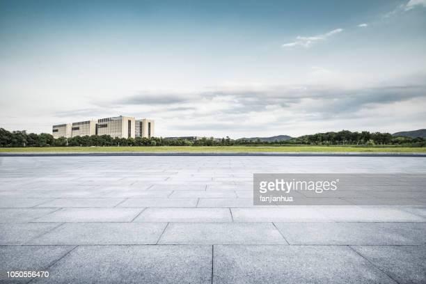 modern architecture background,suzhou - büropark stock-fotos und bilder
