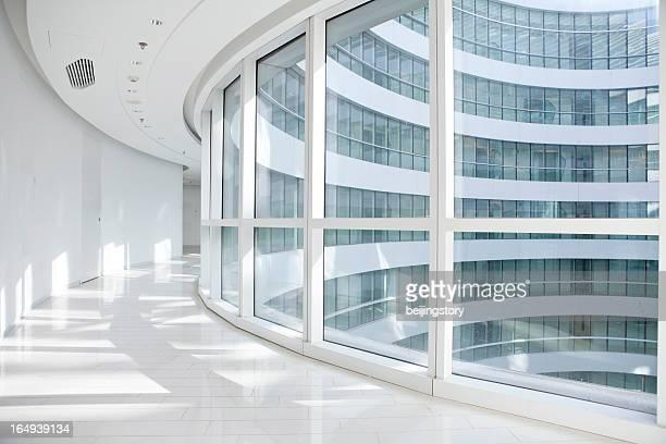 modern architecture corridor