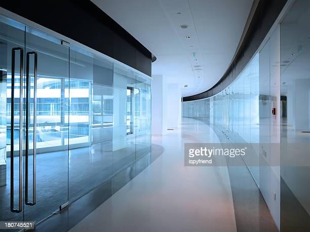 Moderna arquitetura Corredor