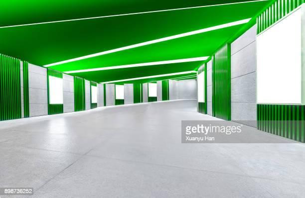 Modern architecture, greencorridor