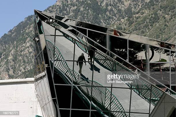 Modern architecture in Andorra la Vella