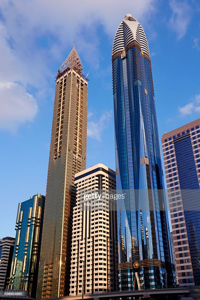 Modern Architecture In Downtowen Dubai Stock Photo Getty Images