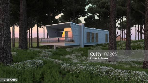 modern architecture in nature