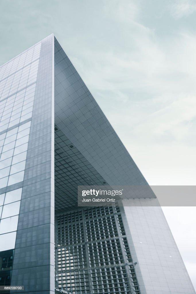 Modern Architecture in Paris : Stock Photo