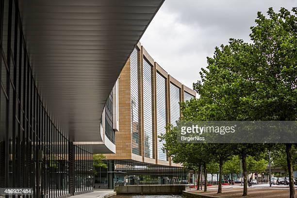 Modern architecture in Ørestaden, Copenhagen, Denmark
