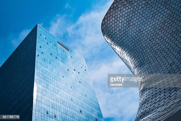 Moderne Architektur Museo Soumaya in Mexiko-Stadt, Mexiko