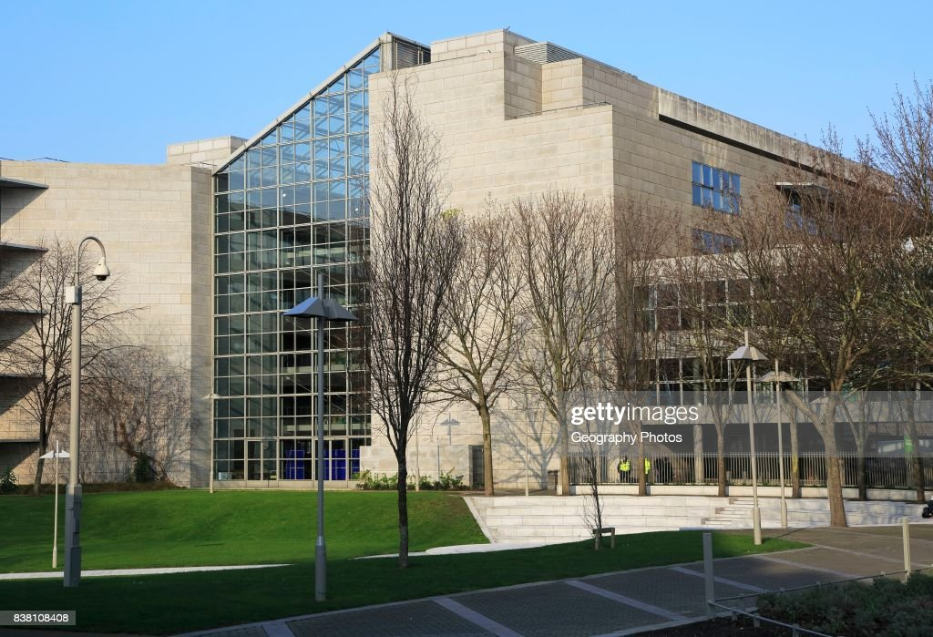 Modern architecture of Dublin City Council Civic Offices