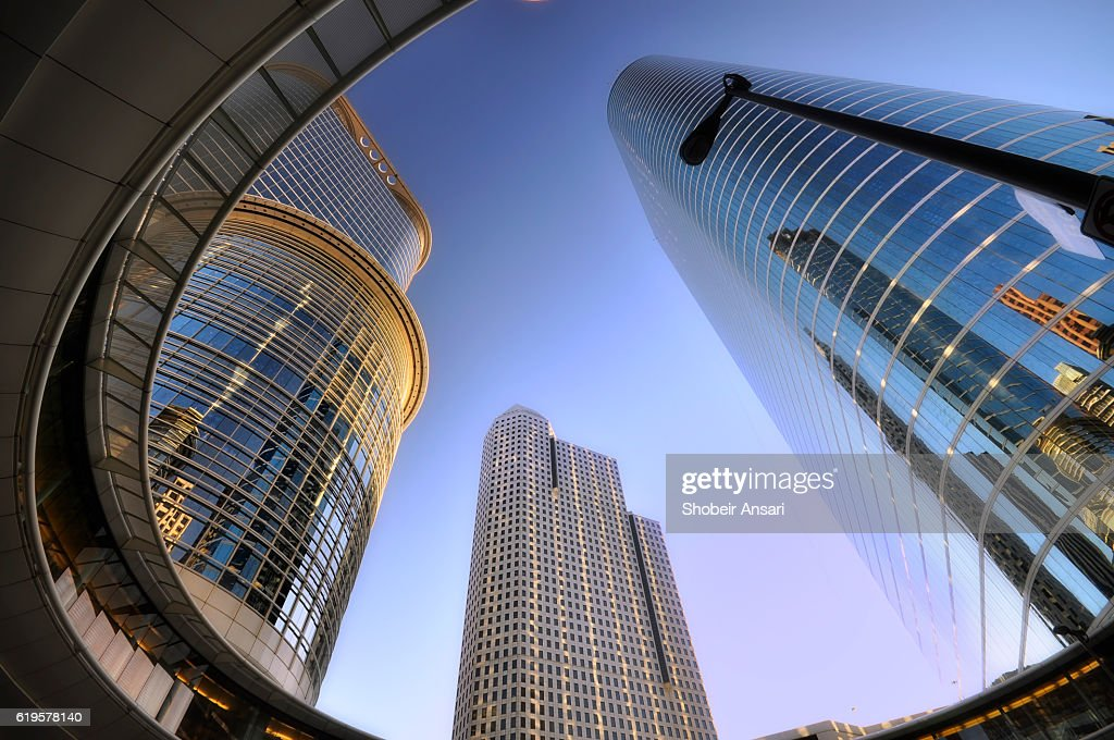 Modern architecture of Houston : Foto de stock