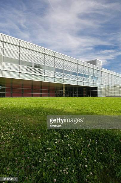 Modern Architecture on green Meadow II