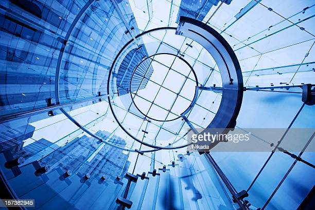 modern architecture - circle stock pictures, royalty-free photos & images