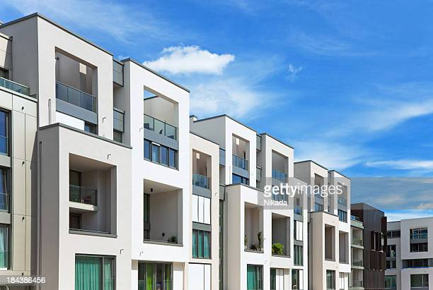 modern architecture - borough district type stock pictures, royalty-free photos & images