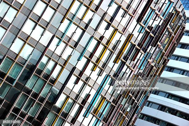 modern architecture - bank financial building stock pictures, royalty-free photos & images