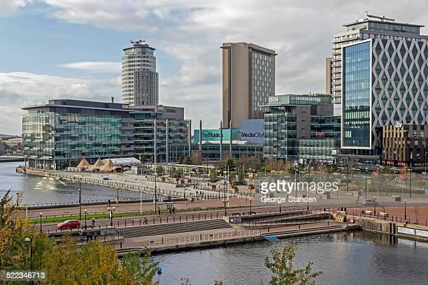 Modern Architecture Salford Quays Manchester