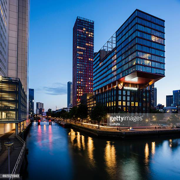Modern architecture, Wijnhaven, Rotterdam, Netherlands