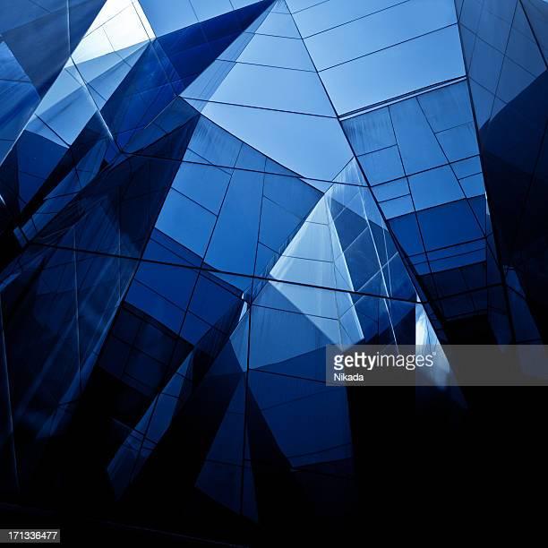 Une Architecture moderne avec verre