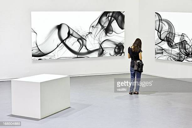 Modern art exhibition