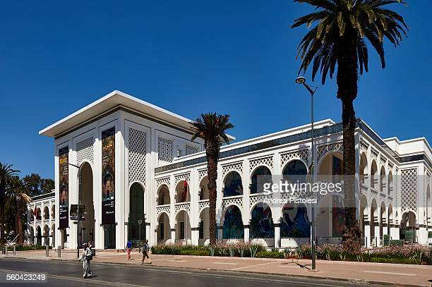 modern art museum of rabat, morocco - rabat morocco stock pictures, royalty-free photos & images
