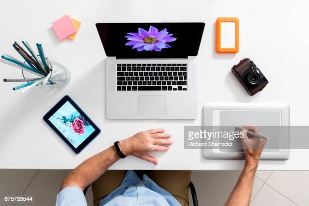 Modern artist's desktop