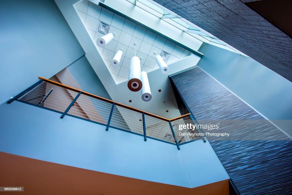 Modern Atrium : Stock-Foto