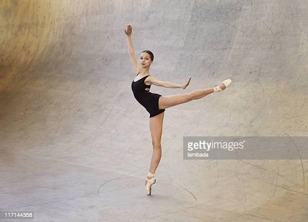 Modernes Ballett-Tänzer