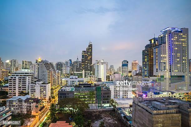 modern bangkok - didier marti stock-fotos und bilder